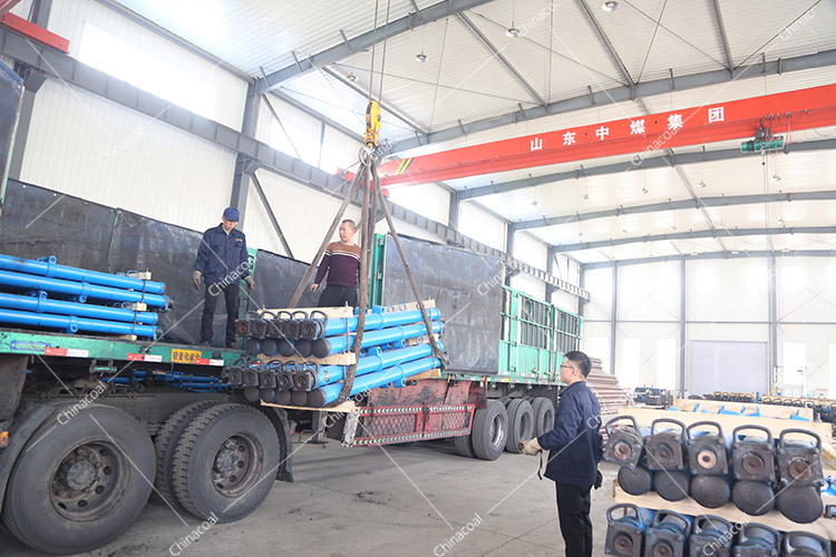 China Coal Group Sent A Batch Of Suspended Hydraulic Props To Datong, Shanxi Province