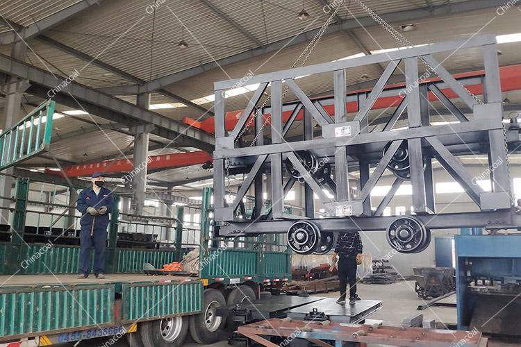 China Coal Group Sent A Batch Of Mining Material Carts To Shanxi