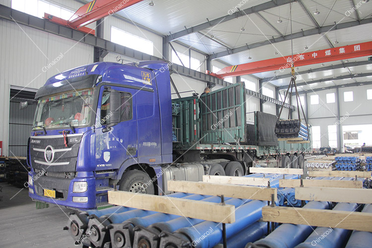 China Coal Group Sent A Batch Of Suspended Single Hydraulic Props To Jincheng, Shanxi