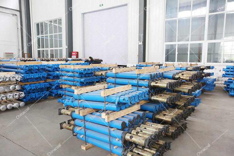 China Coal Group Sent A Batch Of Single Hydraulic Props For Mining To Shanxi And Sichuan