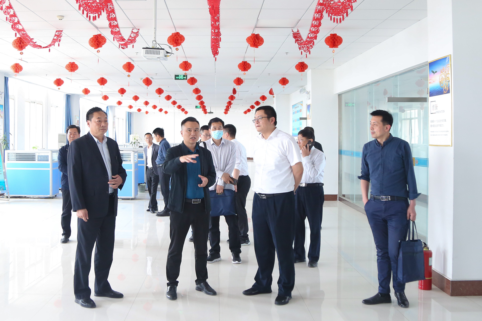 Warmly Welcome The Leaders Of Zibo Human Resources And Social Security Bureau To Visit China Coal Group