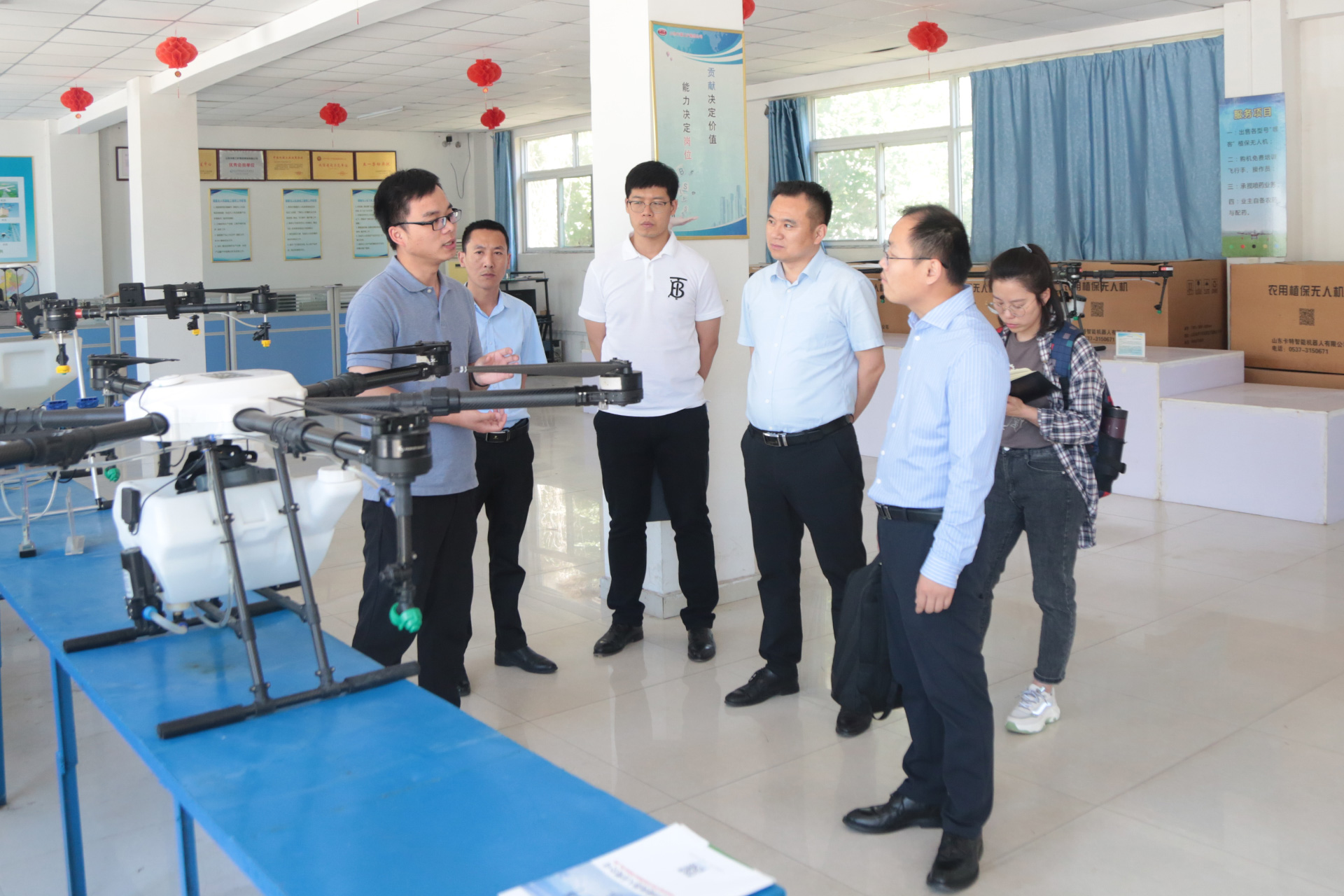 Warm Welcome China Software Testing Center Leadership Come Here China Coal Group Visit Guide