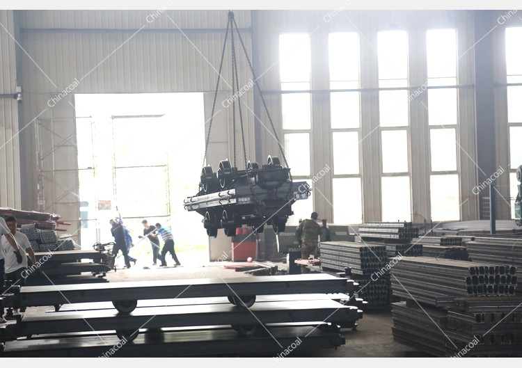 China Coal Group Sent A Batch Of Mining Flatbed Car To Two Major Mines In Shaanxi