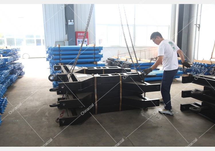 China Coal Group Sent A Batch Of Traction Frames To Shanghai Port