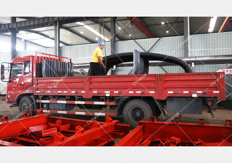China Coal Group Sent A Batch Of U Shaped Steel Supports To Zaozhuang City