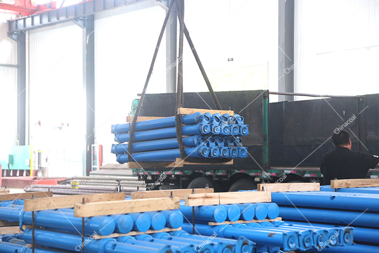 China Coal Group Sent A Batch Of Mining Single Hydraulic Props To Inner Mongolia