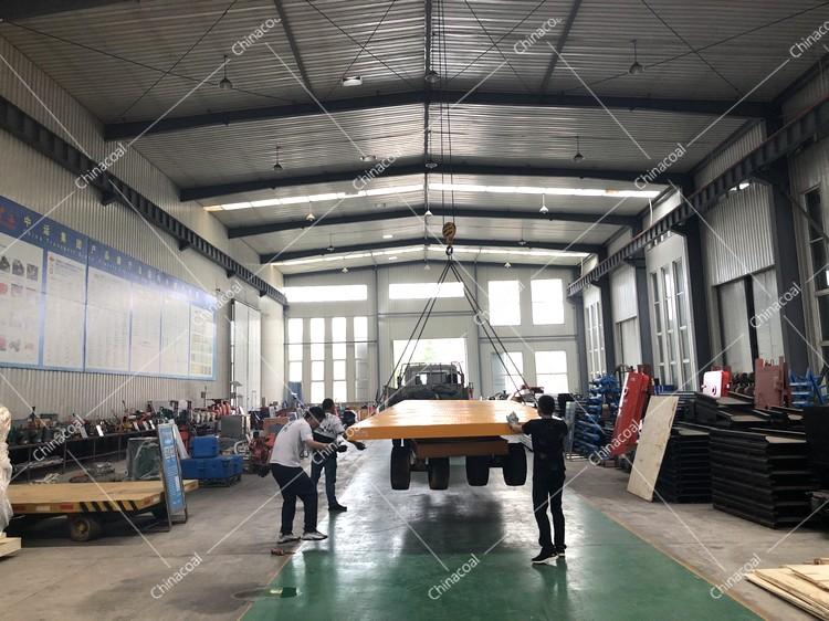 China Coal Group Sent A Batch Of Flat Mining Cars To Tengzhou