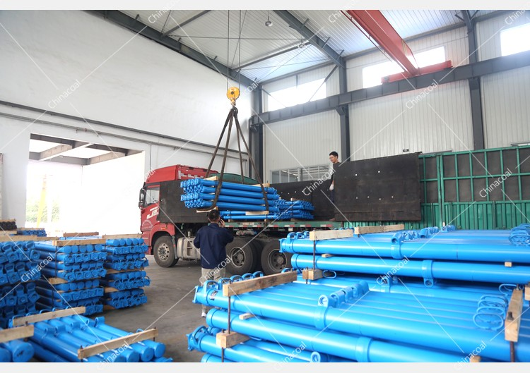 China Coal Group Sent A Batch Of Hydraulic Props And Metal Roof Beams To Yulin, Shaanxi Again
