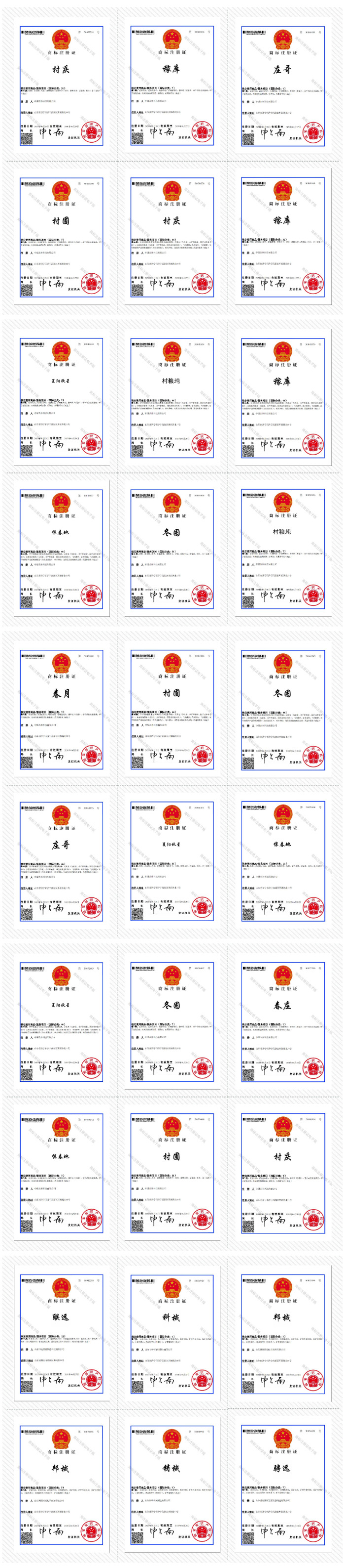 Congratulations To China Coal Group For Obtaining 30 National Trademark Registration Certificates