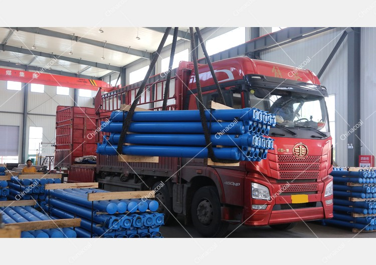 China Coal Group Sent A Batch Of Hydraulic Props To Linfen, Shanxi