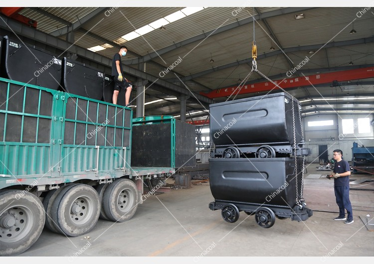 China Coal Group Sent A Batch Of Mine Cars To Xining, Qinghai