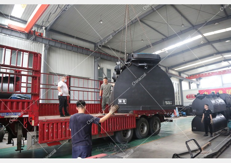 China Coal Group Sent Two Stationary Mine cars To Datong, Shanxi