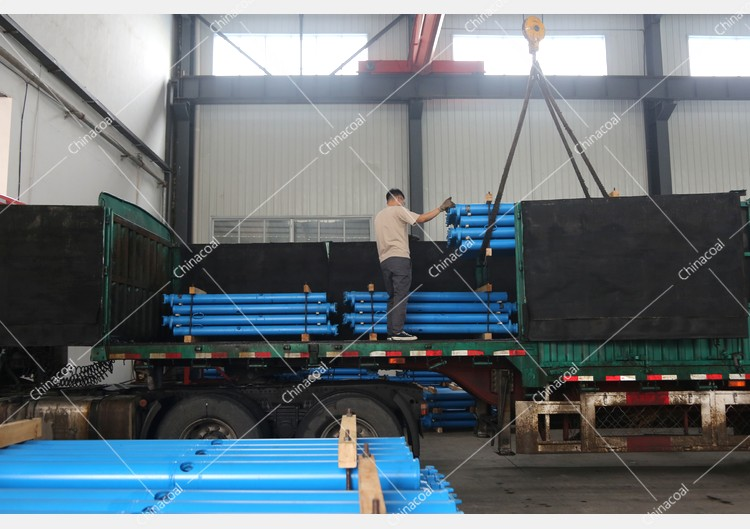 China Coal Group Sent A Batch Of Single Hydraulic Props To A Mine In Inner Mongolia