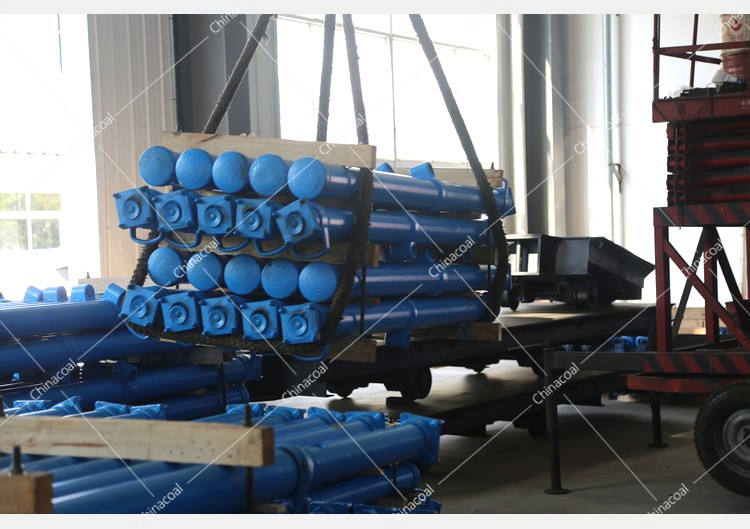 China Coal Group Sent A Batch Of Hydraulic Props To Shanxi And Guizhou