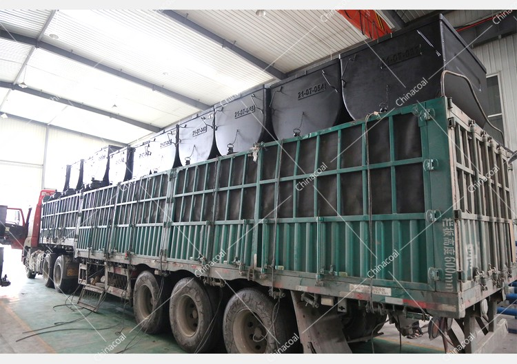 China Coal Group Sent A Batch Of Fixed Mining Cars To A Mine In Guizhou