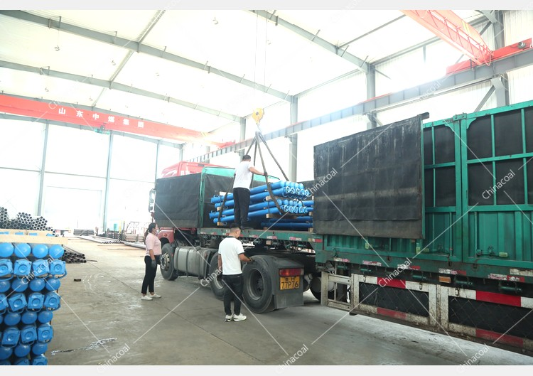 China Coal Group Sent A Batch Of Hydraulic Props And Mining Flat Cars To Shanxi