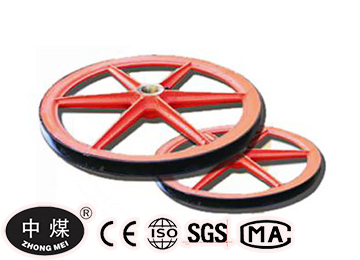 2 m fixed head sheave wheel