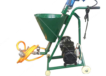 Electric Power Cement Mortar Spraying PaintMachine