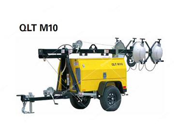 QLT M10 Mobile Vehicle Mounted Diesel Tower Light