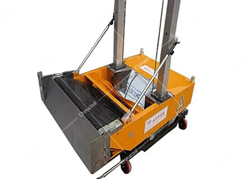 ZB800-4A Wall Sand Plastering Machine For Wall