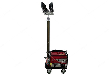 MO-500 Portable Towable Diesel Generator LED Light Tower