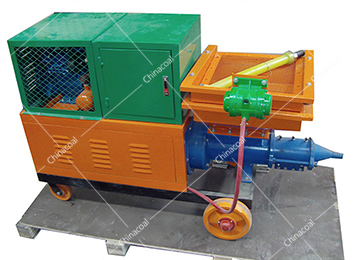 3D Wall Mortar Spraying Machine