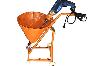 Construction Machine Cement Mortar Spraying Machine