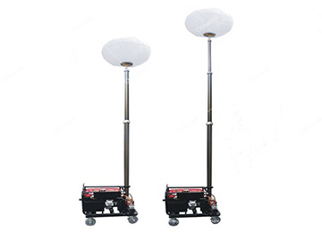 MO-1100Q Portable Mobile Balloon Light Tower Diesel Generator