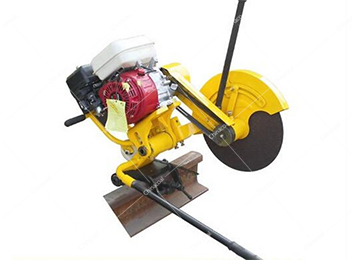 Gasoline Powered Railroad Rail Track Cutting Machine