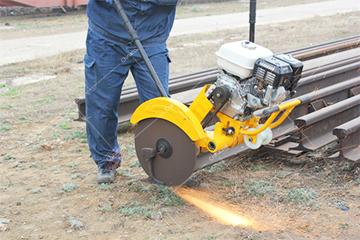 KDJ Electric Rail Sawing Machine