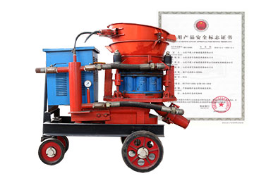 Wet Building Gunite Machine