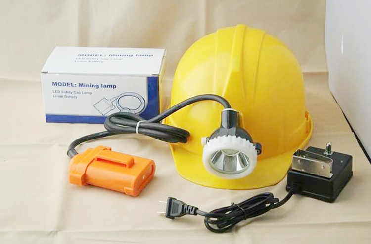 LED Rechargeable Mining Miner Cap Lamp