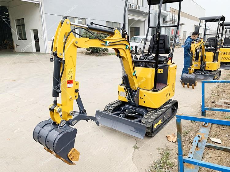 Operation Video of Excavator