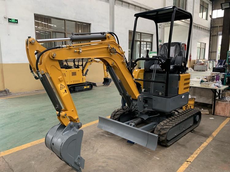 HC-20 Small Hydraulic Excavators Mini Excavator