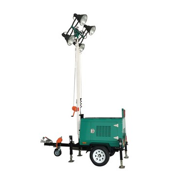 MO-41000A Mobile Tow Behind Light Tower Generator