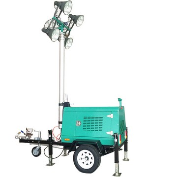MO-5659 Towable Vehicle Mounted Portable Light Towers