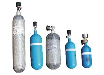 Positive Pressure Breathing Apparatus Oxygen Cylinder