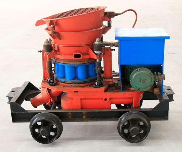 Structure and Working Principle of Shotcrete Machine