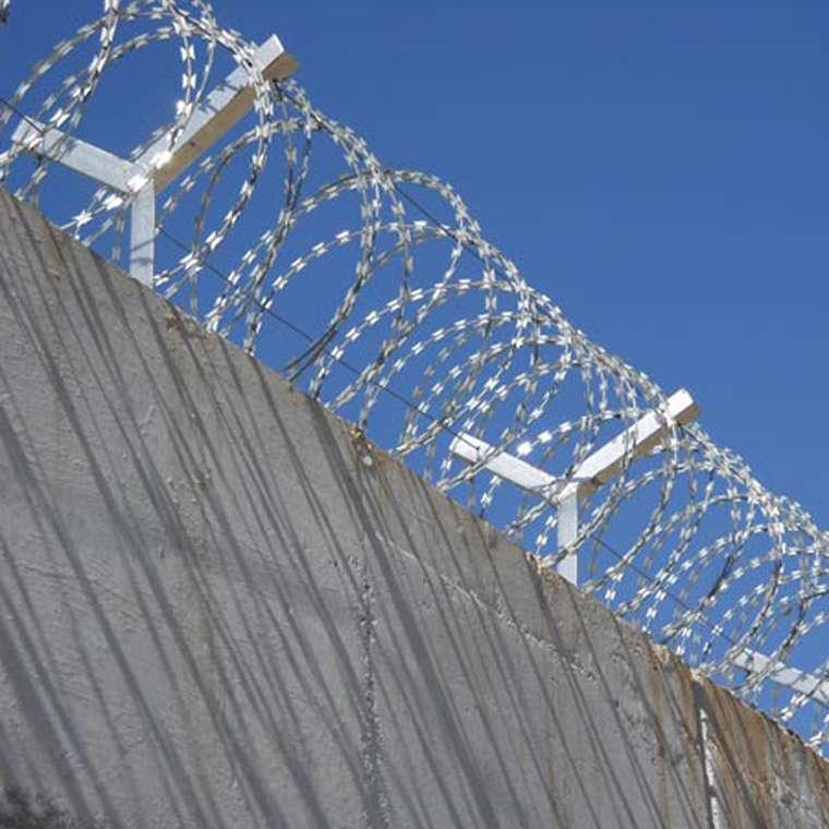 China Supply Low Price Concertina Razor Blade Barbed Wire,China ...