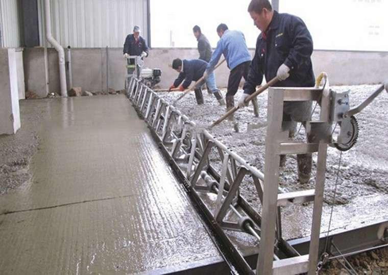 Truss Concrete Screed Cement Spreading Machine Truss